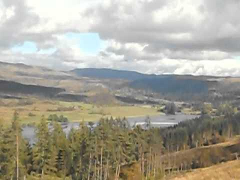 The Trossachs; Loch Venacher From The Rob Roy Way In Autumn