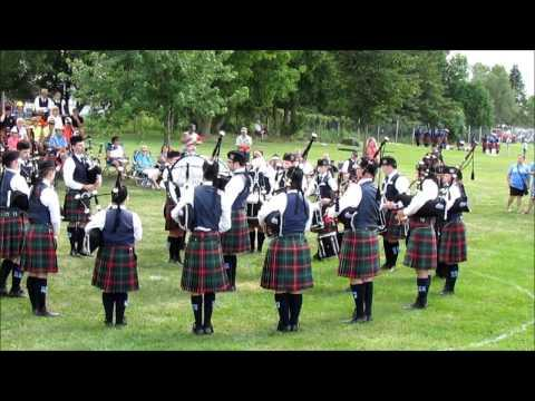 College Of Piping G4 Band At The North American Championships