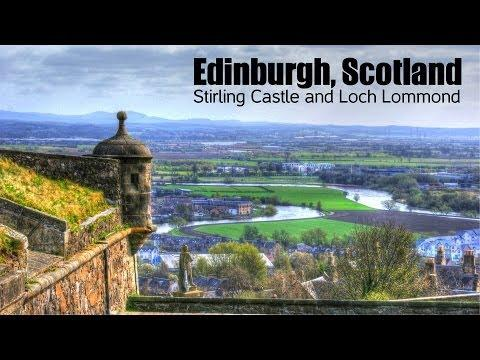 Edinburgh, Scotland: Stirling Castle And Loch Lommond