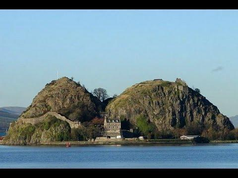 Live Tour Inside Dumbarton Castle, Scotland