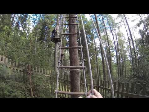 Go Ape Aberfoyle Sunday 11th August 2013
