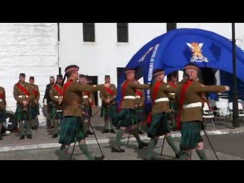 Royal Regiment Of Scotland 2016 Army Pace-stick Competition