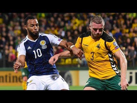 HIGHLIGHTS | Lithuania 0-3 Scotland