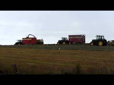 Harvest Rush Before Rain In Caithness July 2013