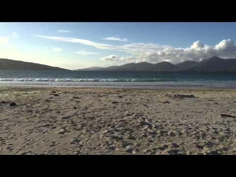 Golden Road & Luskentyre Beach, Isle Of Harris, Scotland