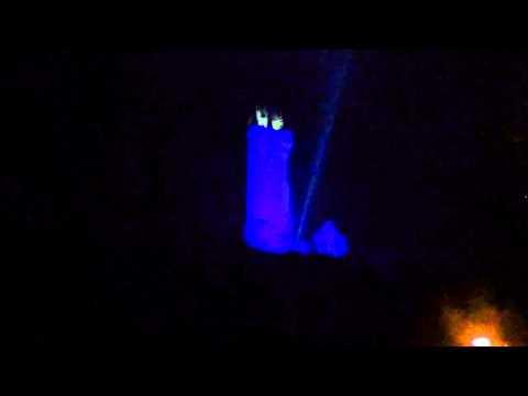 National Wallace Monument, Stirling, Scotland 2014 Fireworks
