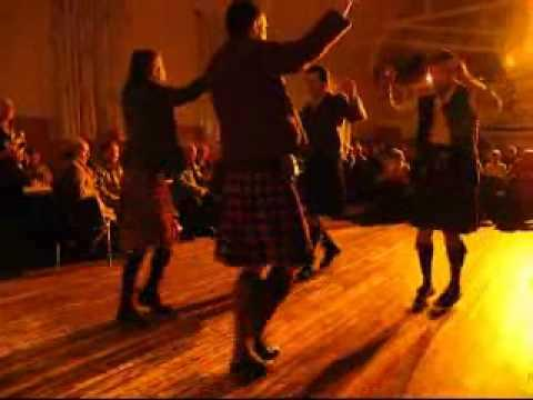 Highland Dance Of The Black Cocks In Blair Atholl, Scotland