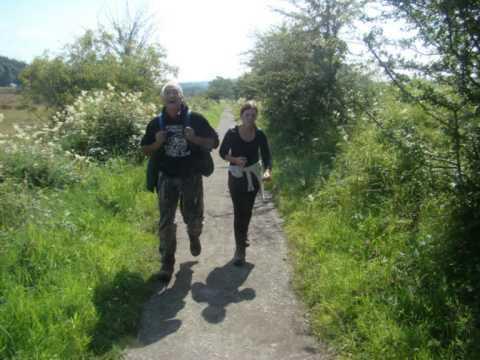 Day 1 - West Highland Way 2015 - Milngavie To Drymen  - Hamilton & Renata, Gordon & Elizabeth,