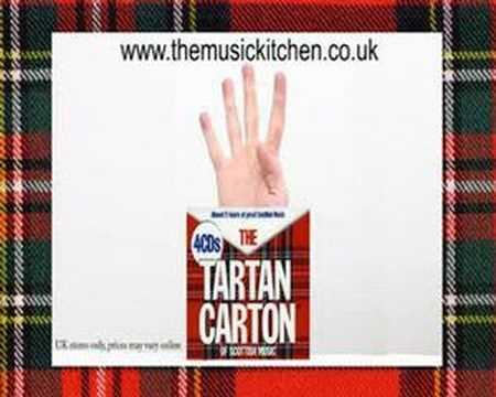 Tarton Carton Of Scottish Music Advert