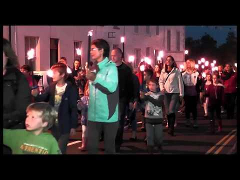 Gatehouse Gala Week  2014  Torchlight Precession