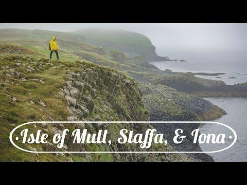 SCOTLAND: Isle Of Mull, Staffa, & Iona!