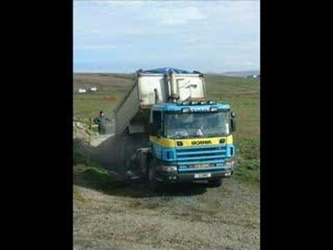 ISLAY TRUCKS DIGGERS  FERRIES AND WHISKY