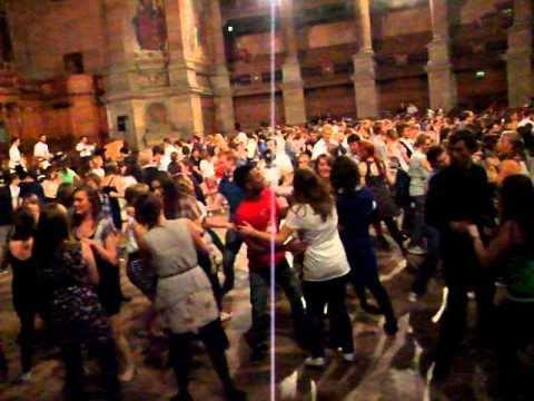 Ceilidh At Edinburgh University