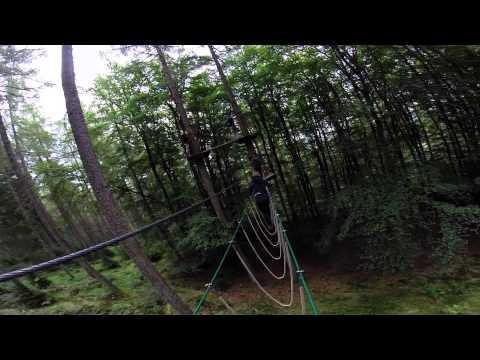 Go Ape - Aberfoyle - Queen Elizabeth Forest Park - GoPro Hero3+ QQLX