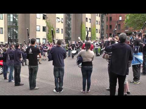 Worlds 2013 - Inveraray & District Pipe Band - Lord Todd Practice - Ceilidh Lines