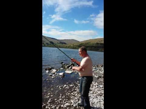 Fishing Loch Earn