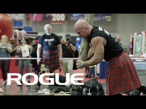 The 2017 Arnold Sports Festival - The Highland Games / 4K