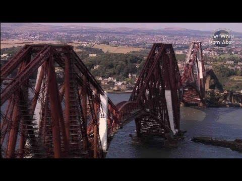 Scotland From Above: Edinburgh To Fingal's Cave Route (HD)