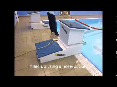 Balfron Barracudas Portable Swim Blocks