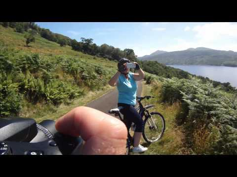 Cycle Loch Katrine - ☑ Check
