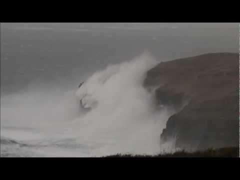 Faraclett Head, Rousay, Orkney - In A Force 10