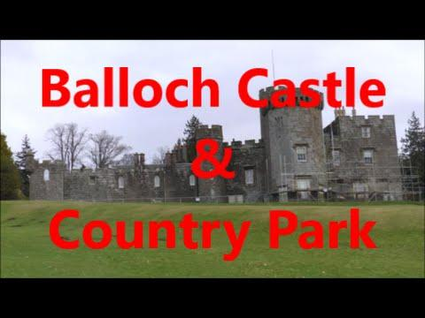 Balloch Castle And Country Park By Loch Lomond, Scotland
