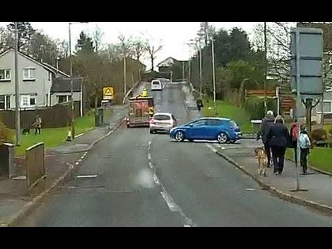 Overtaking In A School Patrol Zone - Lenzie, Glasgow