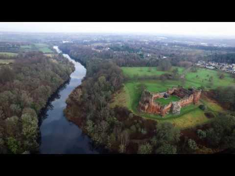 Bothwell Castle Aerial Video