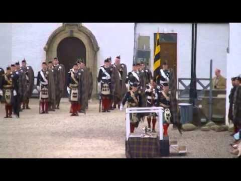 Atholl Highlanders Parade, Blair Castle, Scotland