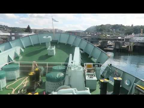 CALMAC - CLANSMAN ARRIVING AT OBAN