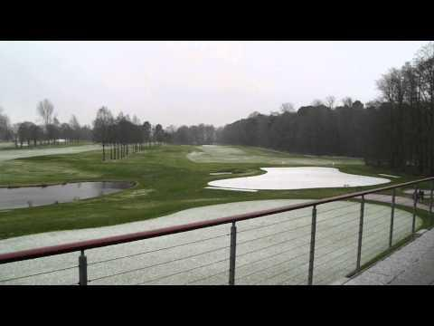 Wintry Weather At Bothwell Castle GC