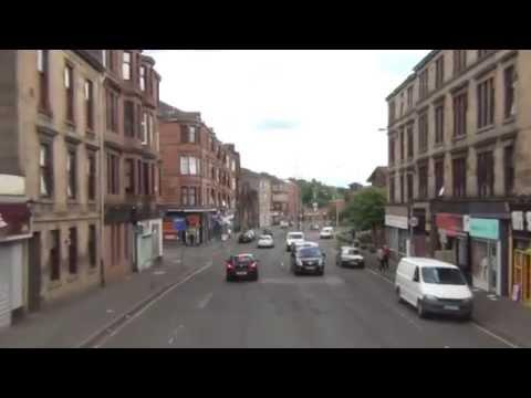 Stirling-Glasgow B10 Bus Driver's Eye View Part 2: Killearn-Glasgow