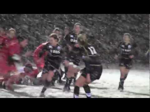 2013: Scotland Women Beat Army In Blizzard