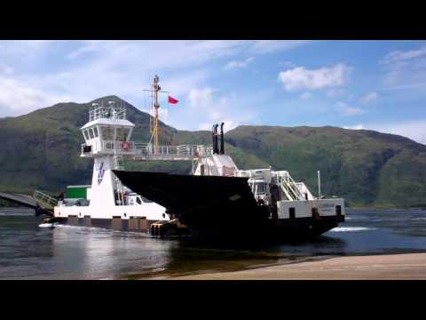 Corran Ferry Scottish Highlands Of Scotland August 2nd