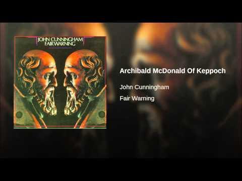 Archibald McDonald Of Keppoch