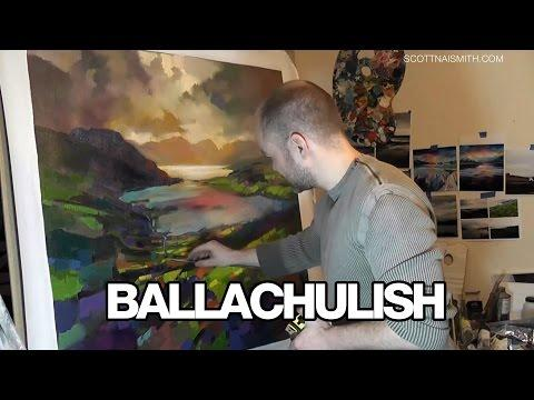 Scottish Landscape Painting: Ballachulish