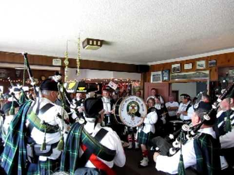 Clan Gordon Bagpipes At Rhody Festival Parade Port Townsend