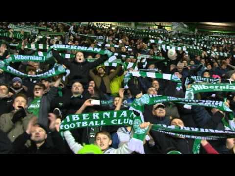 Hibernian Celebrate Great Derby Win With