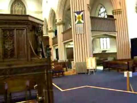 Tomb Of Robert The Bruce Dunfermline Abbey Scotland