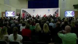 Scottish Cabinet Coatbridge Public Discussion
