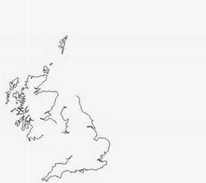 Land Mass Of Scotland Compared To England