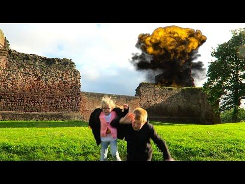 Bothwell Castle EXPLODES!!
