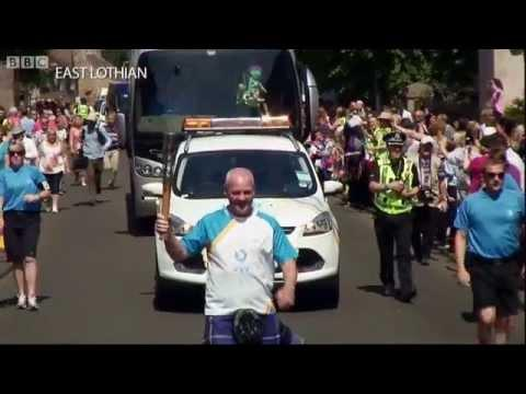 Highlights Of The Queen's Baton Relay In Scotland, Week 1 - BBC Scotland