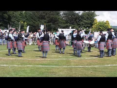 Bothwell Castle Pipe Band (SCOTTISH CHAMPIONSHIPS)