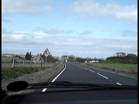 Drive From Thrumster To Wick Retail Park