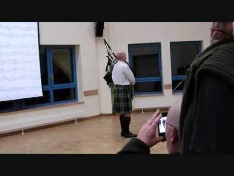 Robert Wallace, The College Of Piping Winter School 2012