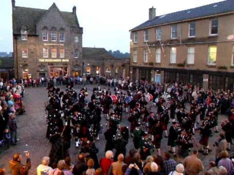 Mini Massed Pipe Bands - Wick, Caithness 2006