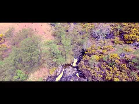 Fort William, Ardgour Estate, Aerial Drone Film Of Ardgour Estate,- 4K Video