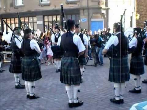 Wick Pipe Band - July 2011