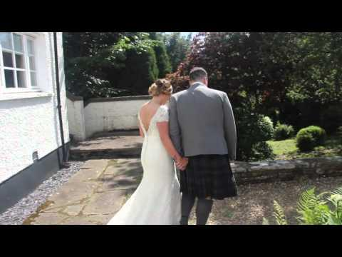 Nicole & Craig - Our Wedding Highlights - Buchanan Arms Hotel, Drymen.